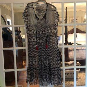 Love and Liberty sheer dress- M